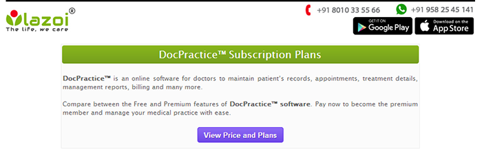 Software for doctors,lazoi software for doctors, online software for doctors, practice management software for doctors